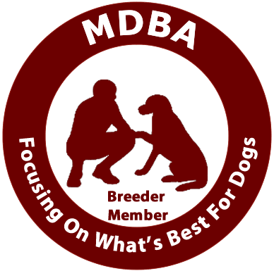 MDBA logo registered breeders