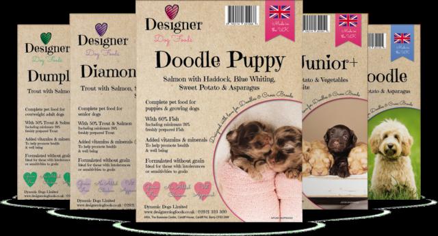 Lisa Carson labradoodle breeder's Designer Dog Food